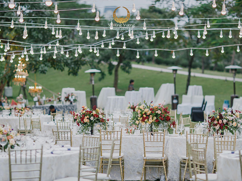 Xu hướng tổ chức tiệc cưới năm 2021