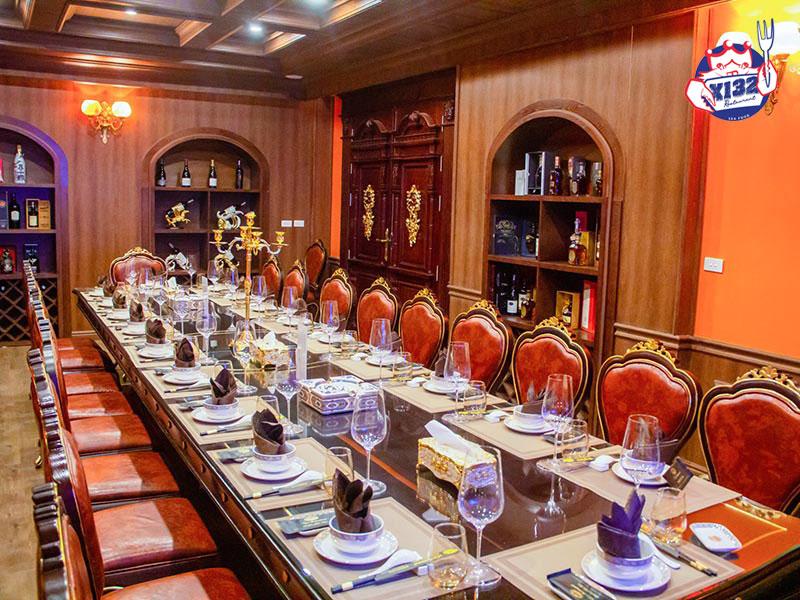 Không gian tổ chức tiệc sang trọng tại nhà hàng