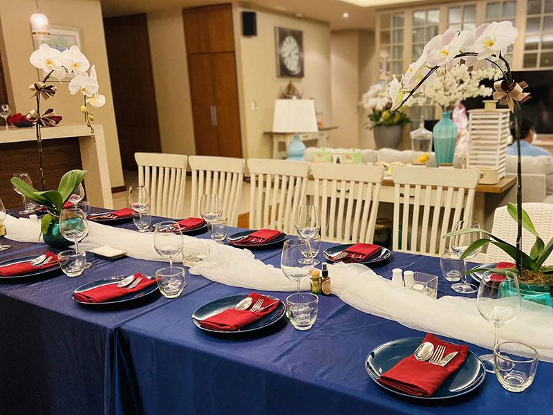 Nên tổ chức tiệc tại nhà đơn giản trong mùa dịch